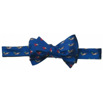Duck/Shells Bow - Blue